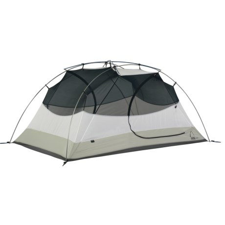 Sierra Designs Zia 2 Tent with Footprint and Gear Loft - 2-Person 3-Season