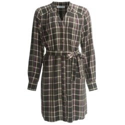 Carve Designs Holton Dress - TENCEL®-Cotton, Long Sleeve (For Women)