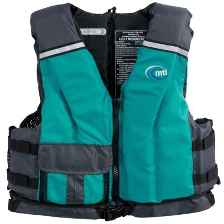 MTI Adventurewear Cruiser SE PFD Life Jacket - USCG-Approved, Type III