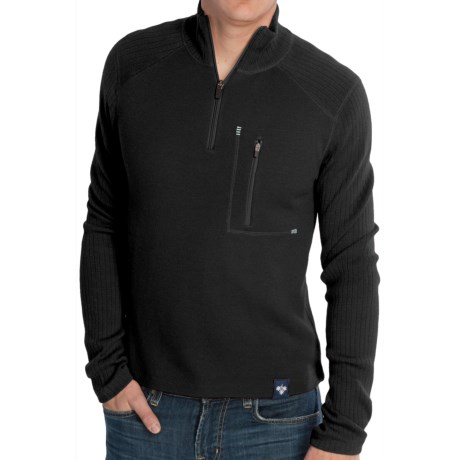 Meister Jeremy Sweater - Merino Wool, Zip Neck (For Men)