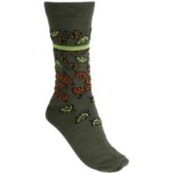 b.ella Patrice Falling Leaves Socks - Merino Wool Blend (For Women)
