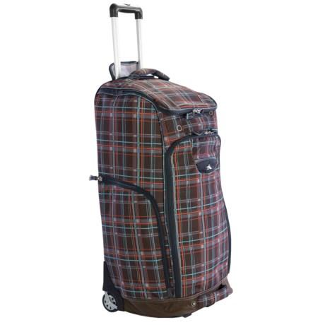 High Sierra Trapezoid Rolling Duffel Bag