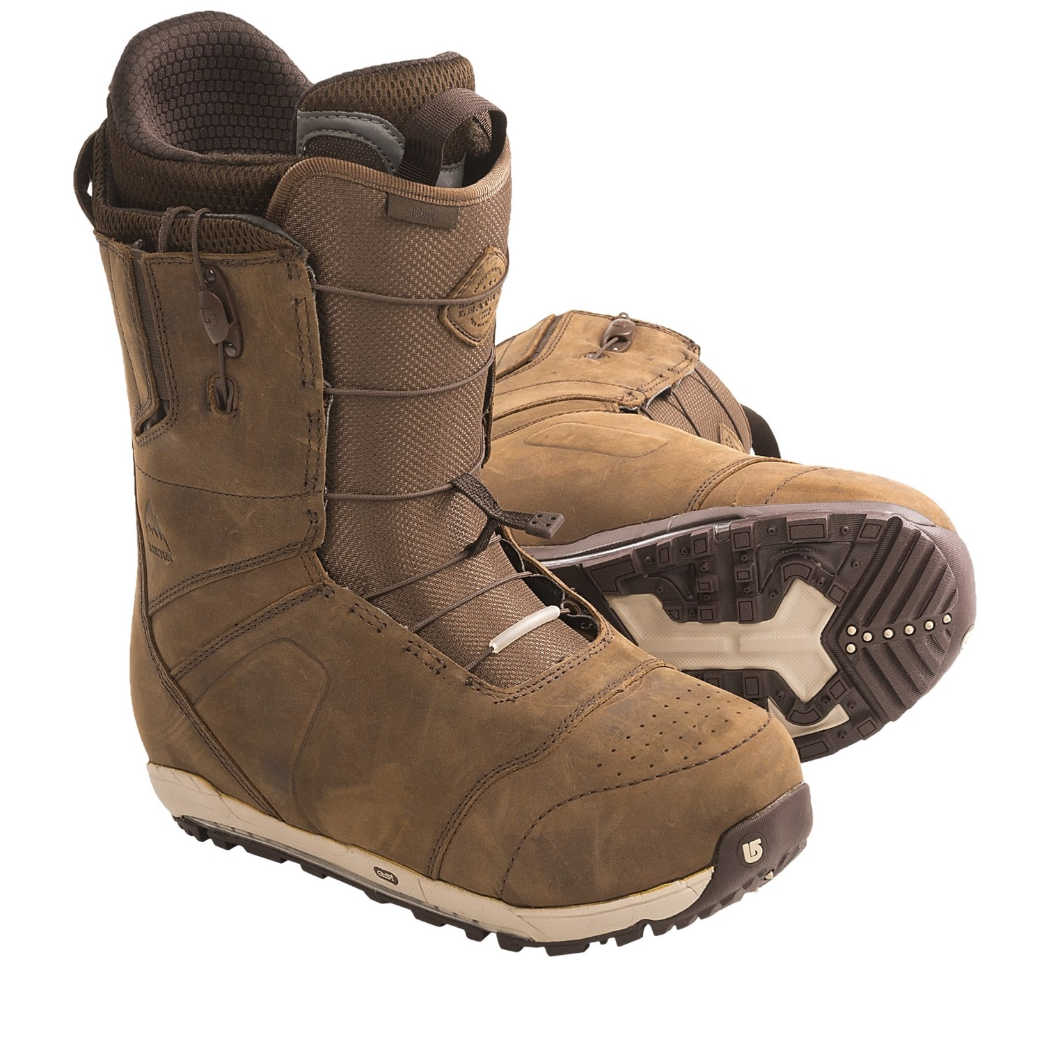 Burton Ion Leather Snowboard Boots (For Men) 7072D