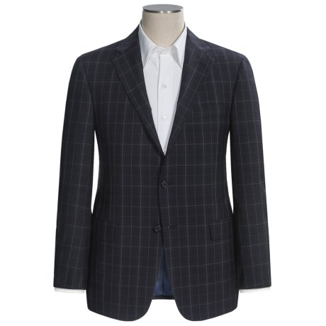 Hickey Freeman Stretch Worsted Wool Sport Coat - B-Body Series (For Men)