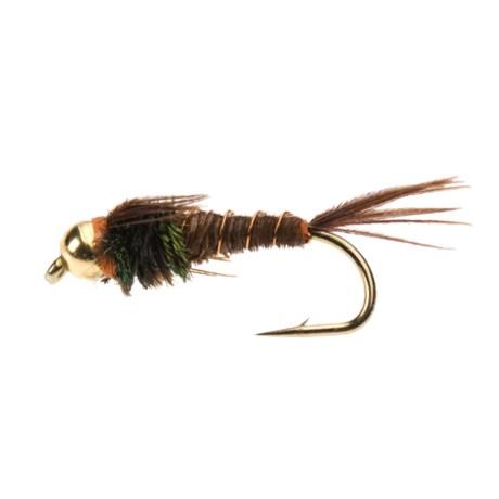 Black's Flies - Gold Bead Flashback Pheasant Tail Nymph (12)