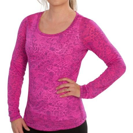 New Balance NBX Burnout T-Shirt - Long Sleeve (For Women)