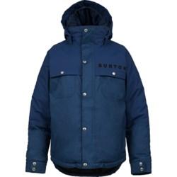 Burton Maverick Snowboard Jacket - Waterproof, Insulated (For Boys)