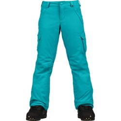 Burton Elite Cargo Snowboard Pants - Waterproof, Insulated (For Girls)