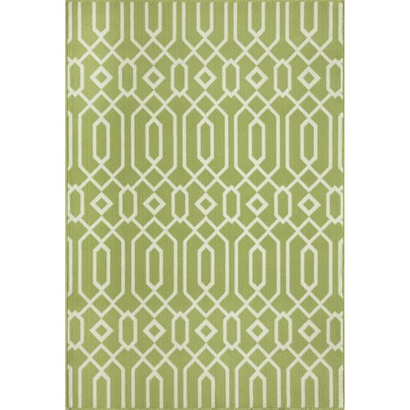"Momeni Geometric Collection Indoor-Outdoor Area Rug - 7'10""x10'10"""