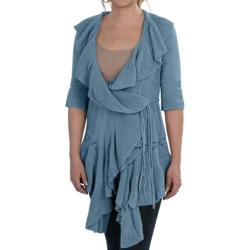 Aventura Clothing Francesca Cardigan Sweater - 3/4 Sleeve, Tie Waist (For Women)