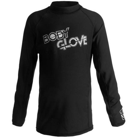 Body Glove Basic Junior Rash Guard - UPF 50+, Long Sleeve (For Kids and Youth)