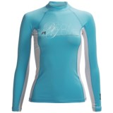 Body Glove Deluxe Rash Guard - Long Sleeve (For Women)