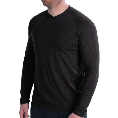 tasc Performance tasc Clubhouse V-Neck T-Shirt - UPF 50+, Long Sleeve (For Men)