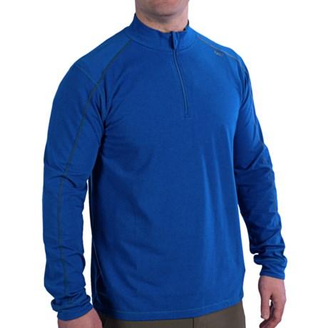 tasc Core Pullover Shirt - UPF 50+, Organic Cotton-Viscose, Zip Neck, Long Sleeve (For Men)