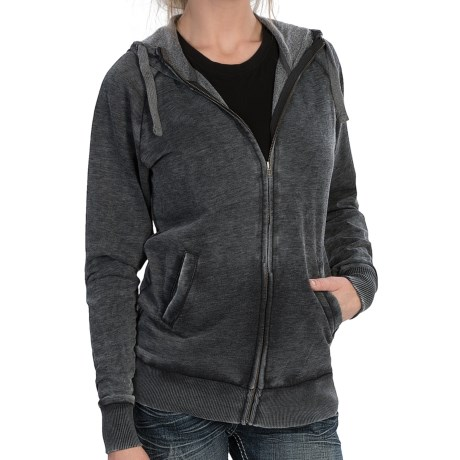 RU Cowgirl Marie Zip Hoodie (For Women)
