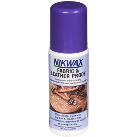 Nikwax Fabric & Leather Proof - 4.2 fl.oz.