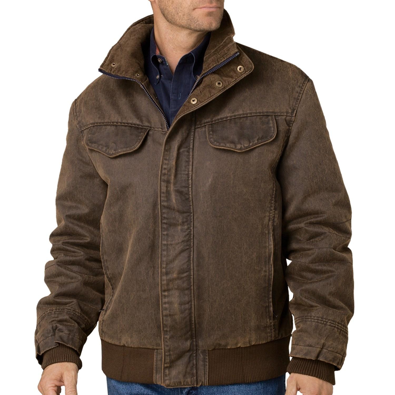 Cripple Creek Coated Canvas Jacket For Men 7103v Save 27