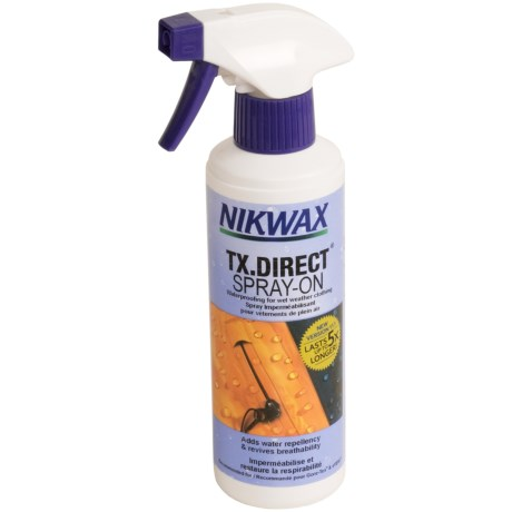 Nikwax® TX. Direct Spray-On Waterproofing