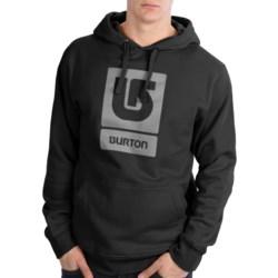 Burton Logo Vertical Hoodie Sweatshirt (For Men)