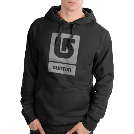 Burton Logo Vertical Hoodie Sweatshirt (For Men)
