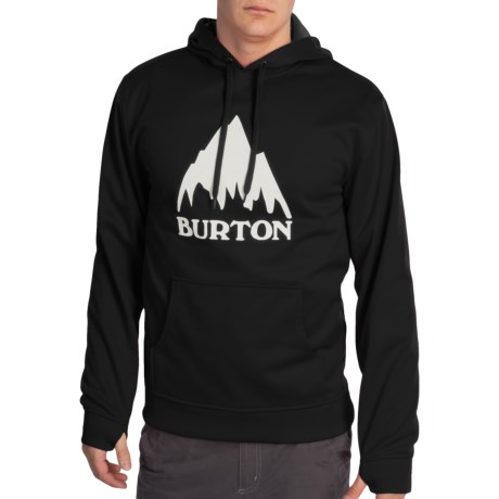 Burton Crown Bonded Fleece Hoodie Sweatshirt - Pullover (For Men)