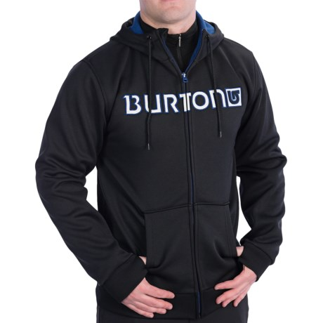 Burton Bonded Fleece Hoodie - Full Zip (For Men)