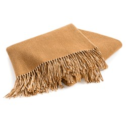 Johnstons of Elgin Lambswool Pin Dot Throw Blanket