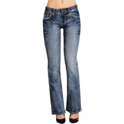 Rock & Roll Cowgirl Stitch and Stone Jeans - Mid Rise, Bootcut (For Women)