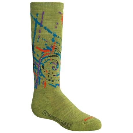SmartWool SW110 Snowboard Socks - Merino Wool, Over the Calf (For Boys)