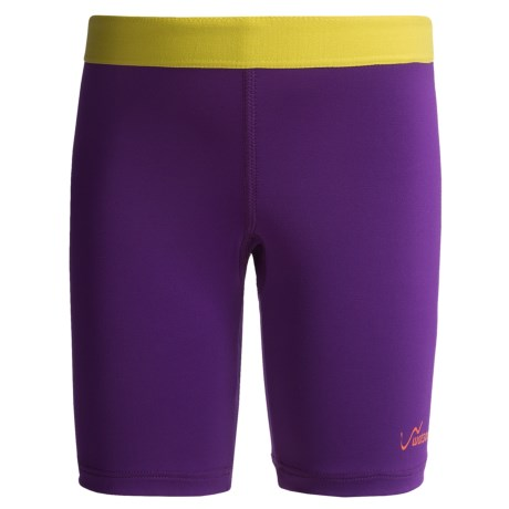 Watson's Compression Stretch Nylon Shorts (For Girls)