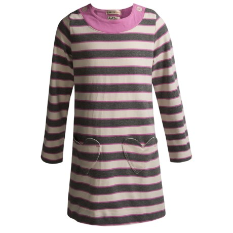 Hatley A-Line Dress - Cotton, Long Sleeve (For Girls)