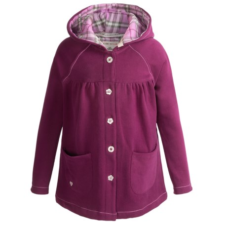 Hatley Button-Down Jacket - Hooded (For Girls)