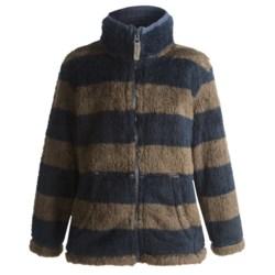 Hatley Fuzzy Fleece Jacket - Zip Front (For Kids)