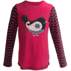 Hatley Graphic Shirt - Cotton, Long Sleeve (For Girls)