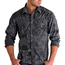 Rock & Roll Cowboy Stonewashed Shirt - Snap Front, Long Sleeve (For Men)
