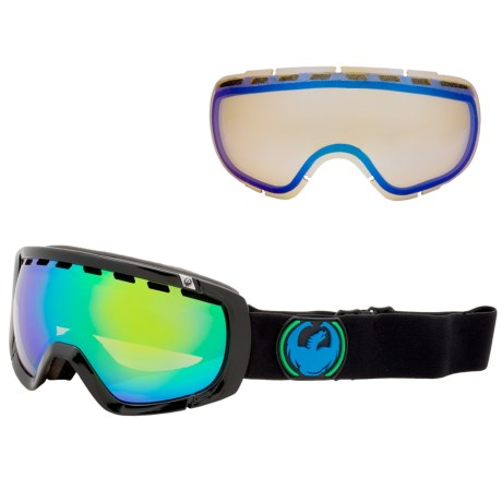 Dragon Alliance 2013 Rogue Snowsport Goggles - Ionized, Interchangeable Lens