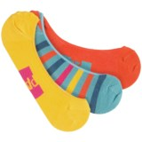 Pact No-See-Um Socks - 3-Pack, Organic Cotton Blend, Below-the-Ankle (For Women)
