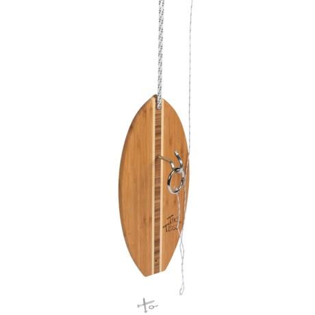 Mellow Militia Tiki Toss Ring Toss - Surfboard