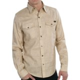 Roscoe Outdoor Gus Shirt - Hemp-Organic Cotton, Long Sleeve (For Men)