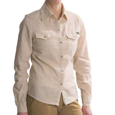 Roscoe Outdoor Clara Shirt - Hemp-Cotton, Long Sleeve (For Women)