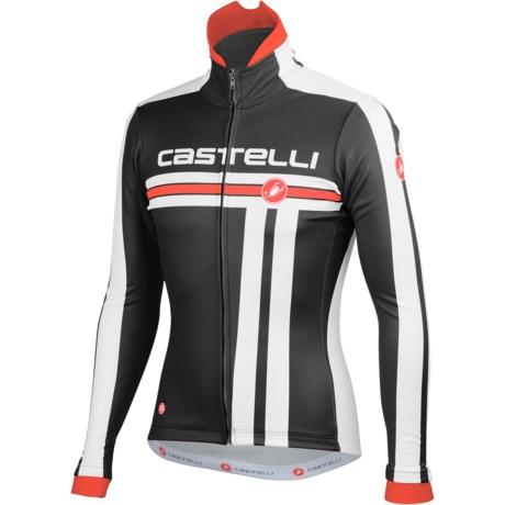 Castelli Free Cycling Jacket - Windstopper® (For Men)