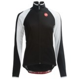 Castelli Pazza Convertible Cycling Jacket - Windproof (For Women)