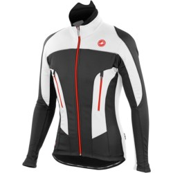 Castelli Mortirolo Due Cycling Jacket - Windstopper® (For Men)