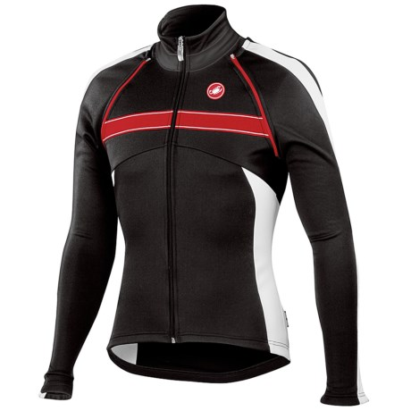 Castelli Pazzo Convertible Cycling Jacket (For Men)