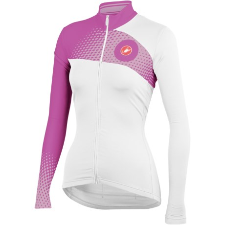 Castelli Incanto Cycling Jersey - Full Zip, Long Sleeve (For Women)