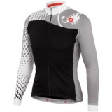 Castelli Sfida Cycling Jersey - Full Zip, Long Sleeve (For Men)