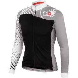 Castelli Sfida Cycling Jersey - Full Zip, Long Sleeve (For Men)