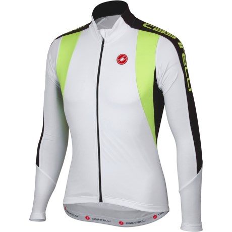 Castelli Premio Cycling Jersey - Full Zip, Long Sleeve (For Men)