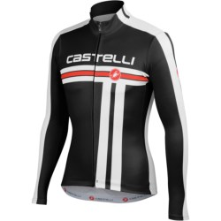 Castelli Free Cycling Jersey - Full Zip, Long Sleeve (For Men)