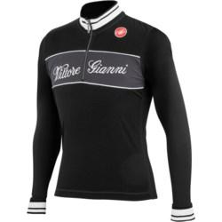 Castelli Vittore Gianni Cycling Jersey - Merino Wool, Long Sleeve (For Men)